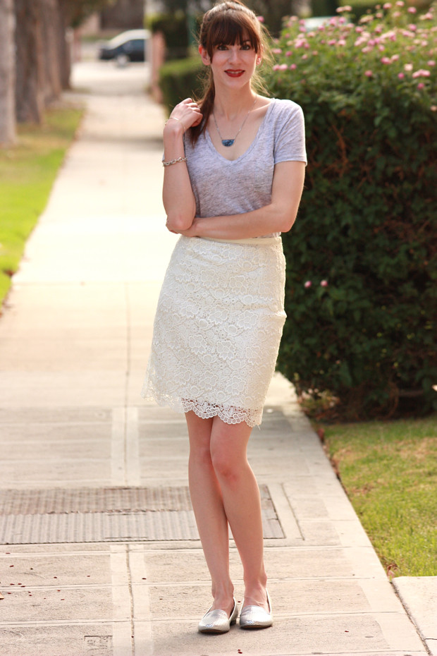 Lace skirt, InfinEight