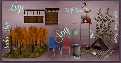 Autumn Lake House: Ingredients!