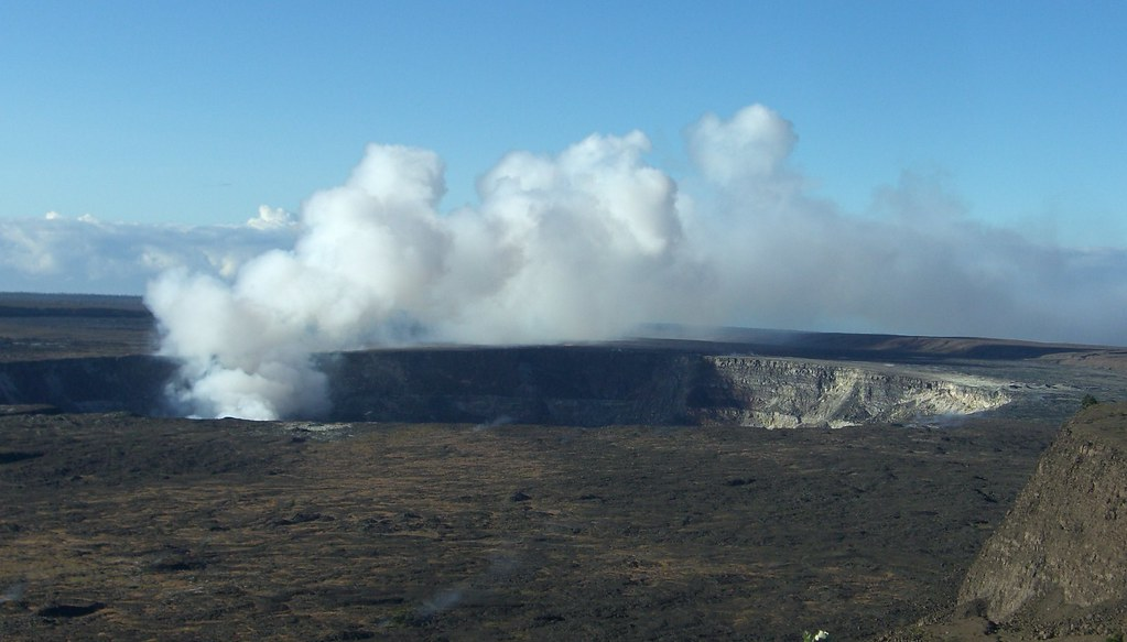 Crater at Kilauea