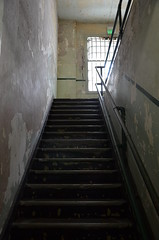 stairs, Alcatraz