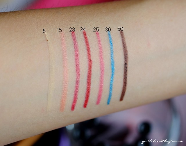 Etude House Play 101 Pencils swatches