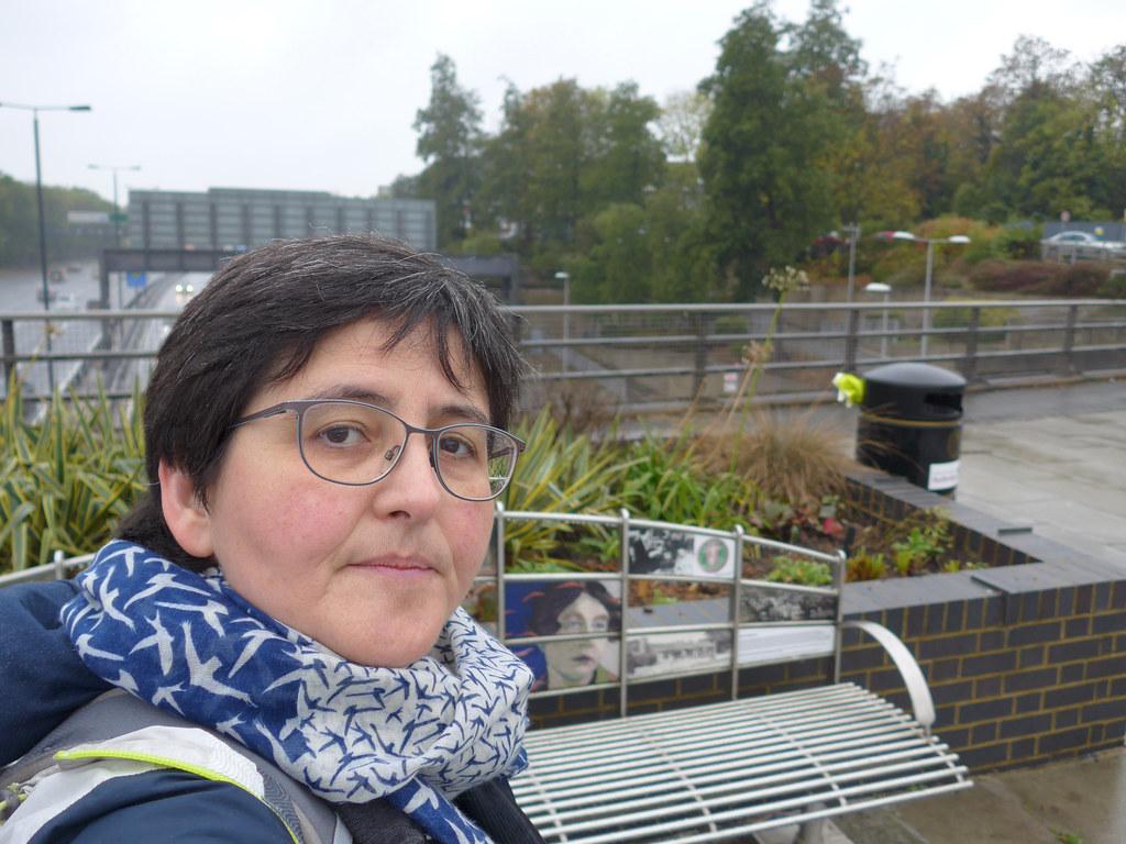 Sylvia Pankhurst bench