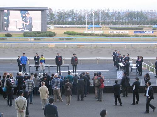 金沢競馬場のステージ