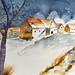 389 Verschneites Dorf by Wuwus Bilder