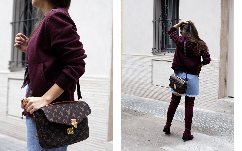 011_how_to_wear_bomber_burgundy_outfit_theguestgirl_streetstyle_barcelona