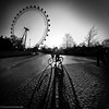 London Eye Silhouettes