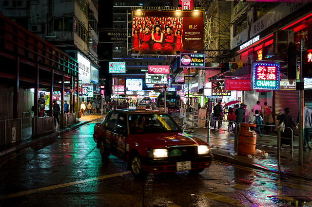 The Bustle - Hong Kong - Leica M9-P