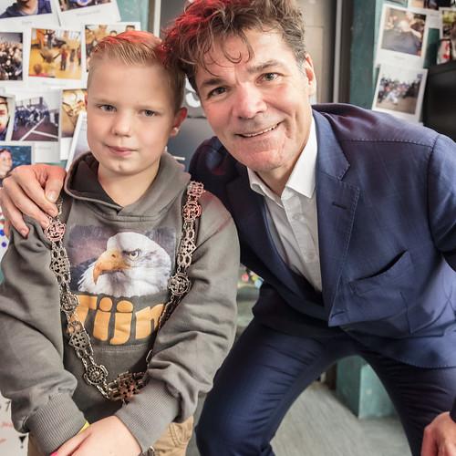 Tijn is de nieuwe burgemeester van Breda