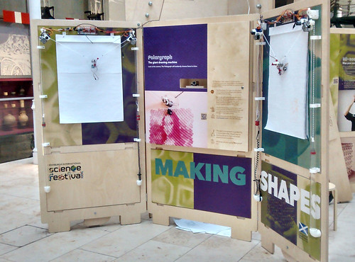 Polargraph at Edinburgh Science Festival