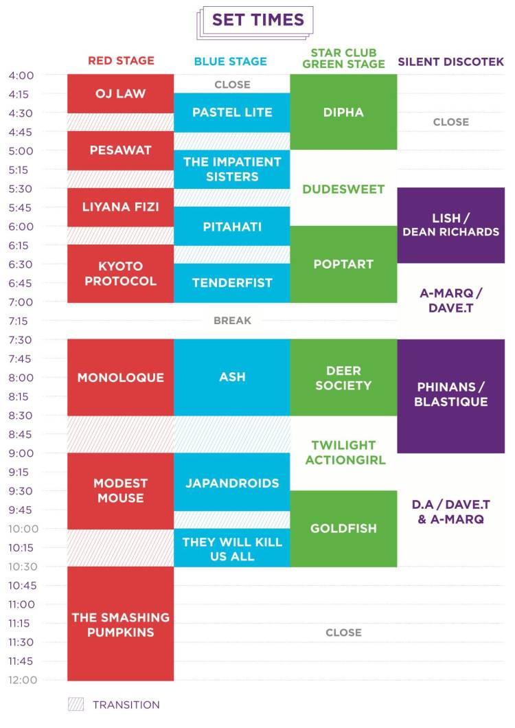 06 Good Vibes Set Times