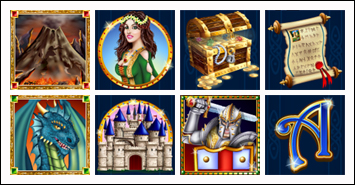 free Mystic Dragon slot game symbols