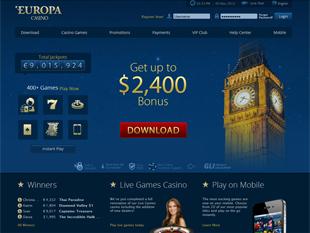 Europa Casino Home