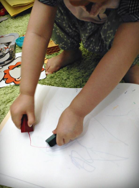 18幼兒蠟筆MUJI色筆