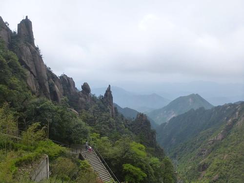Jiangxi-Sanqing Shan-1 sentier de l'est (104)