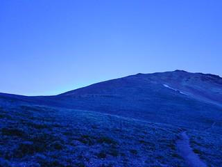 Quail Mountain from Sheep Gulch