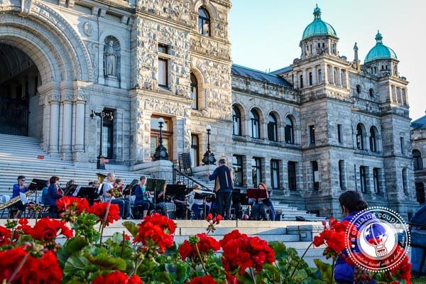 Victoria BC Parliament Concert