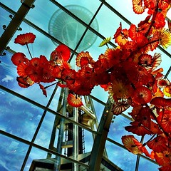 Chihuly & Space Needle