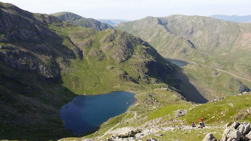 Low Tarn with Levers Water in the background #sh