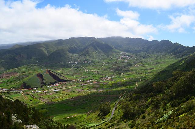 El Palmar Valley, Teno, Tenerife