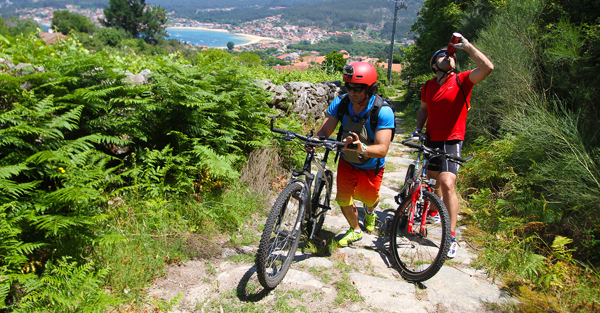 Mountain Bike nas Rías Baixas