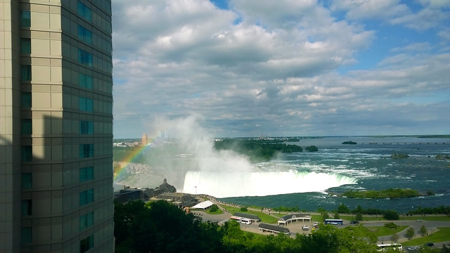 View from the Radisson Niagara Falls
