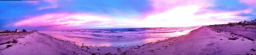 sunset beach gulfofmexico colors island colorful florida panoramic palm westcoast palmisland nofilter iphone iphoneography