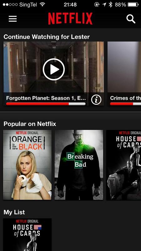 Netflix - iOS App