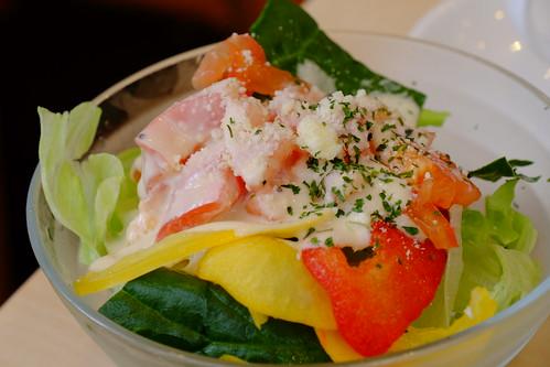 mini Caesar salad