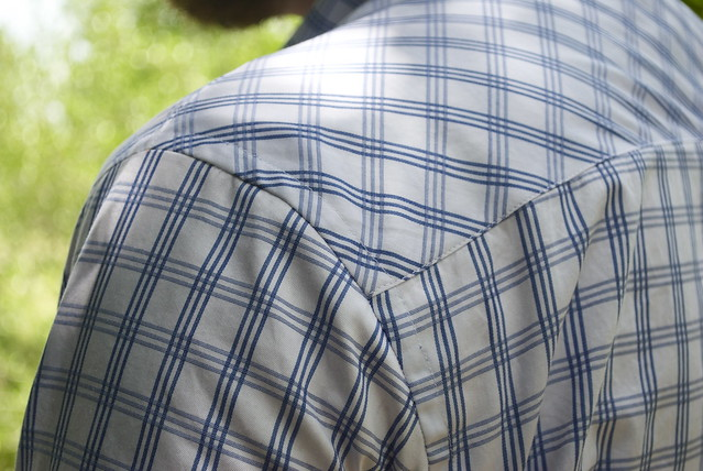 Mood Fabrics Italian Cotton Check shirting