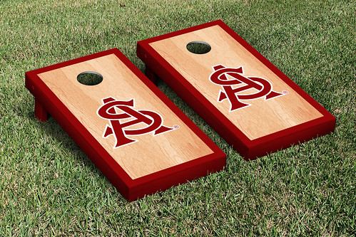 Arizona State ASU Sun Devils Cornhole Game Set Hardcourt