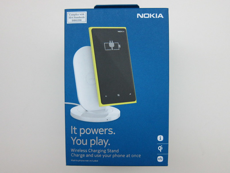 Nokia Wireless Charging Stand (DT-910) - Box Front