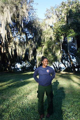 Michaela Hall, a Job Corps alumna, challenged herself to learn firefighting skills as part of the Davidson River Initial Attack Crew, stationed at Schenck Job Corps Civilian Conservation Center on the Davidson River on the Pisgah National Forest in western North Carolina. (U.S. Forest Service)