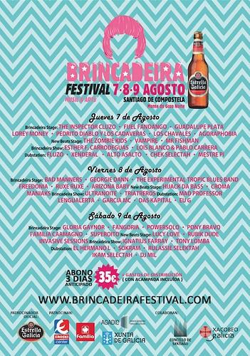 Santiago de Compostela 2014 - Festival Brincadeira - cartel