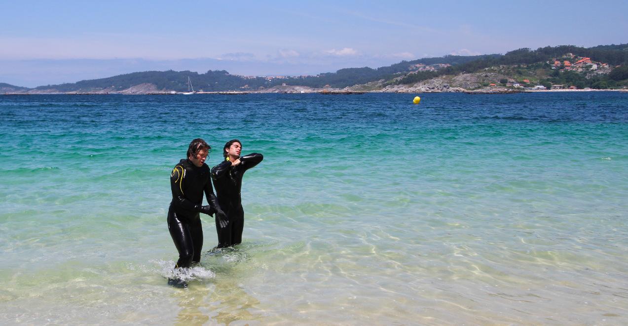 Snorkel nas Rías Baixas