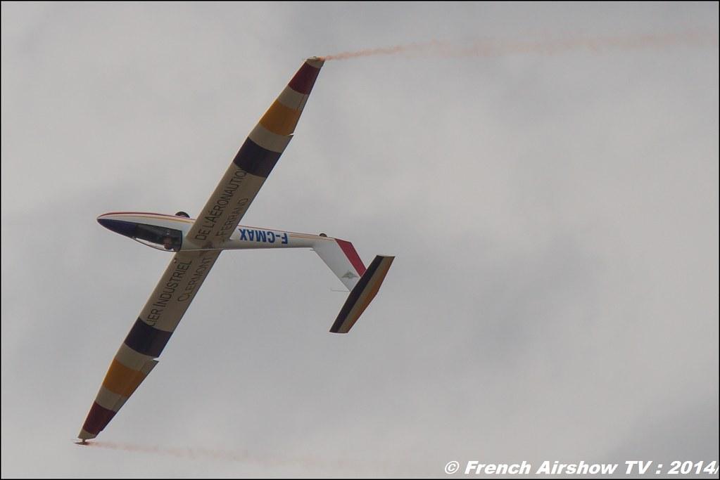 Pilatus B4 Voltige, planeur ,B4 Aerobatic Airshow, Meeting Aerien BA-133 Nancy Ochey 2014