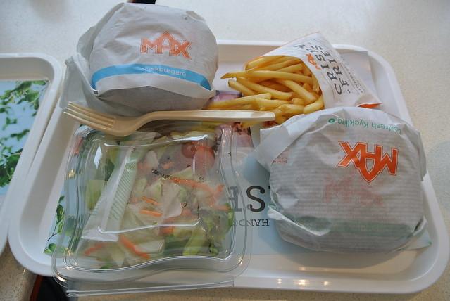 Dinner at Max Burger