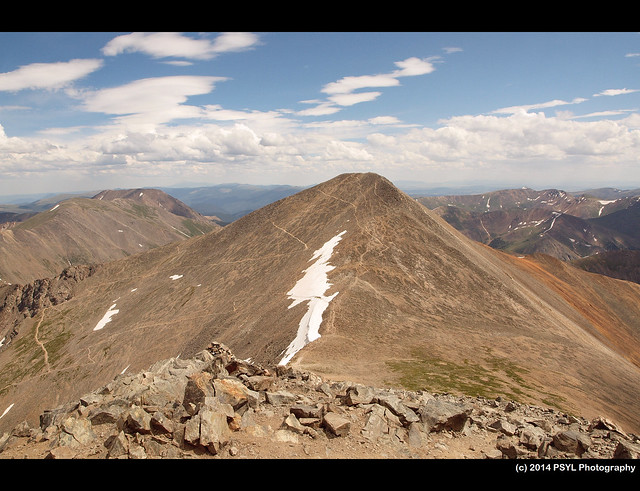 Grays Peak (14,278 ft / 4,352 m)