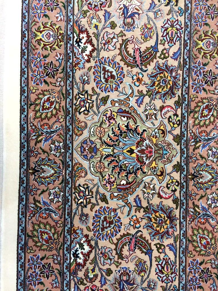 Mashhad Samirad 100 Raj Silk Persian Rug Item Cs Ba 905