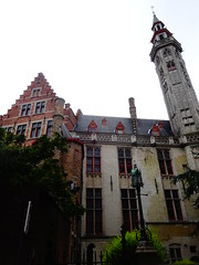Random tower in Bruges