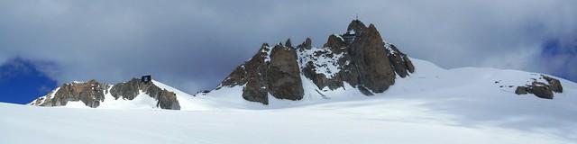 Refuge des Cosmiques & Aiguille du Midi