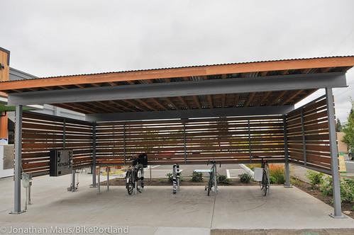 Bike parking at Green Zebra Grocery-4
