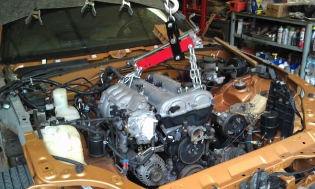MM 00 EVO Engine Install 6