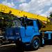 Tatra 813 NT 4x4 AD 125 crane