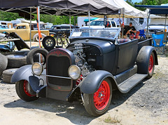 Flathead-powered Ford pickup