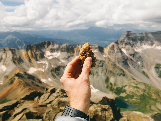 Trail cookie at high altitude