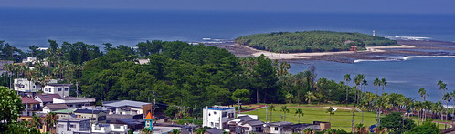 panorama japan landscape scenery miyazaki kyushu aoshima kaigan nichinan
