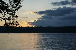 Fish Creek Pond Sunset