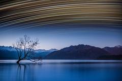 Lake Wanaka star trails