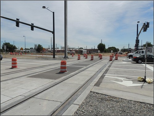Photo of reconstructed intersection of York, Josephine and 40th avenue
