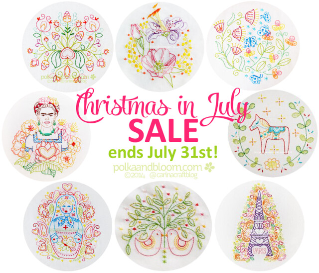 Xmas in July sale reminder